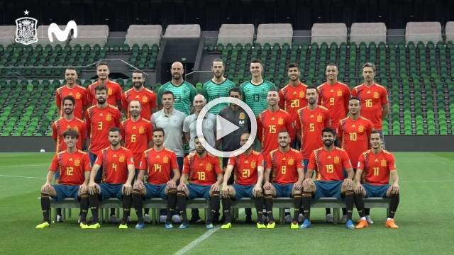 Spain aiming to be picture perfect for Morocco match