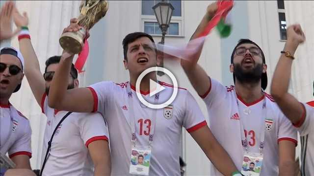 Iran fans full of hope ahead of group decider against Portugal