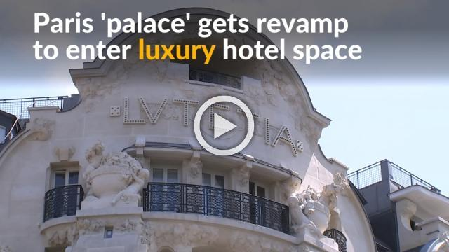"""Revamp of Paris """"palaces"""" prove there's still space in market for luxury hotels"""