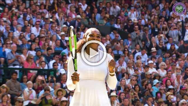 Highlights of Wimbledon's Day 8