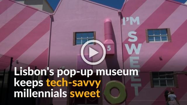 Sweet inspired museum in Portugal delights millennials