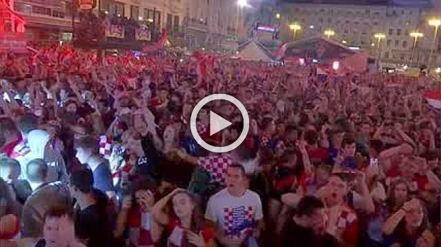 Croatians celebrate history as they beat England to reach World Cup final