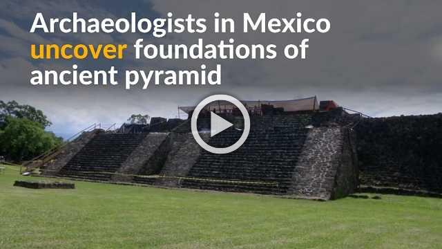 Mexico earthquake reveals undiscovered pyramid