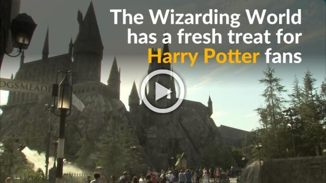 Wizarding World casts spell on Potter fans with Butterbeer-flavored ice cream