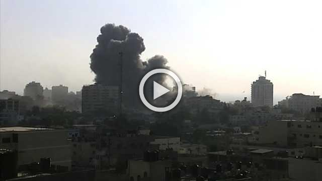 Two Palestinians killed in Israeli air strike in Gaza - health officials