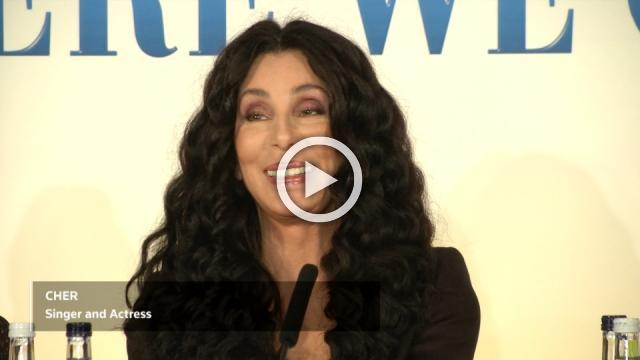 'I was terrified' - Cher on joining Mamma Mia film