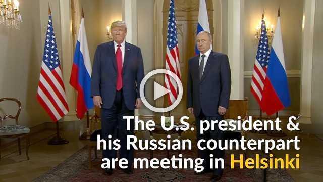 Trump, Putin meet for summit in Helsinki