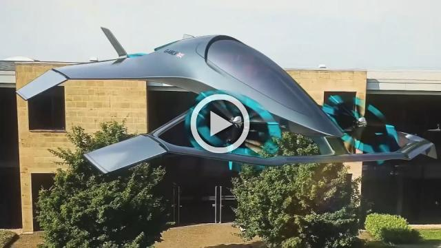 Aston Martin unveils 'sports car for the skies'