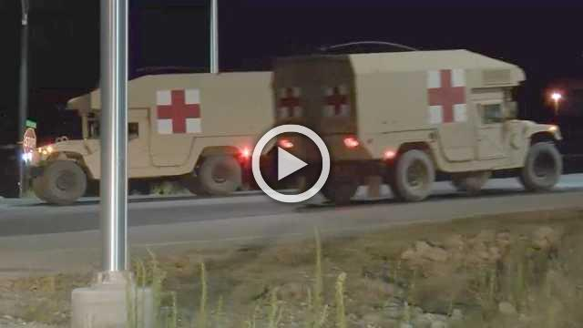 Soldiers hurt after tent collapses at CA Army base