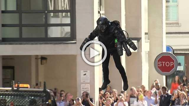 'Jet suits' go on sale in London
