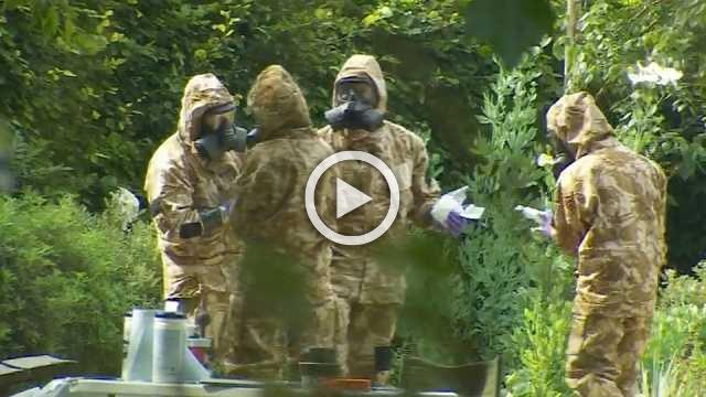 UK police search Salisbury park in Novichok poisoning investigation