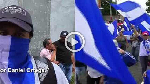 Thousands march for removal of President Ortega