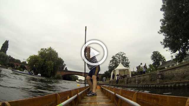 'Kit' take a punt in English river race