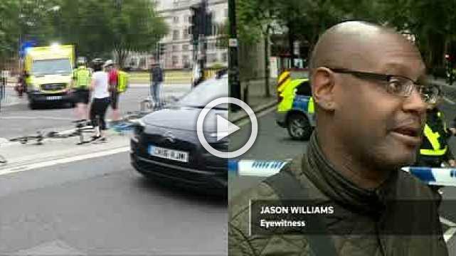 Police suspect terrorism in Westminster crash