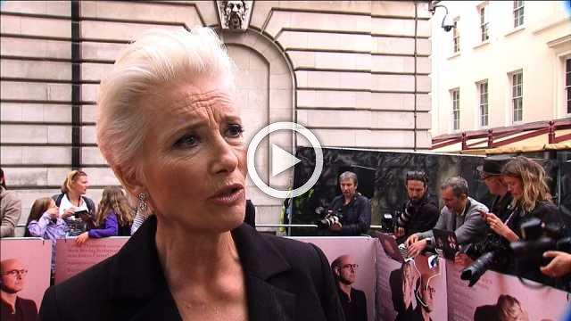 Thompson on women in film at 'The Children Act' premiere