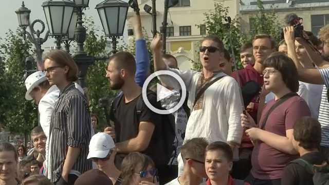 Russians protest pension reform despite Putin consessions