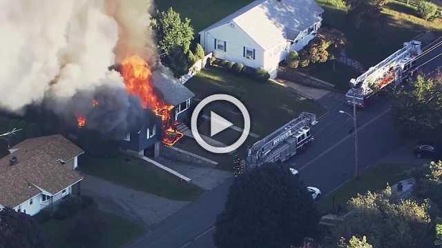 Multiple fires, explosions in towns near Boston