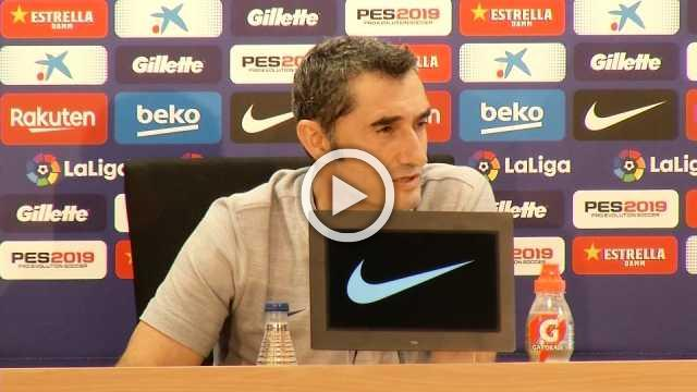 Valverde unsure on La Liga match in USA