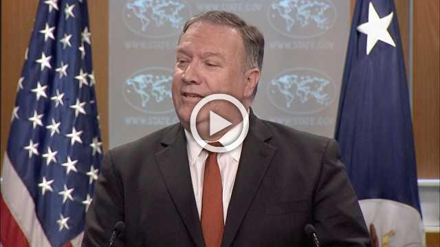 """Russia """"actively"""" working to undermine NK sanctions: Pompeo"""