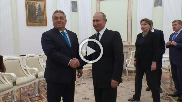 Hungary's Orban calls Moscow a predictable partner, meeting Putin