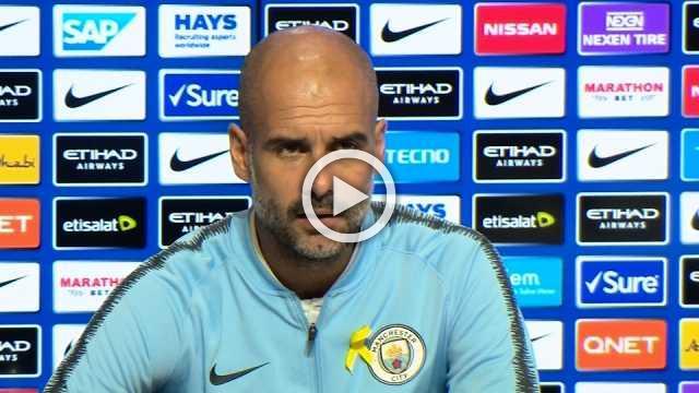 Guardiola defends Man City after surprise loss