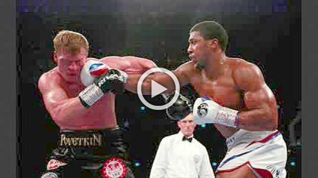 Joshua retains his heavyweight belts with TKO of Povetkin
