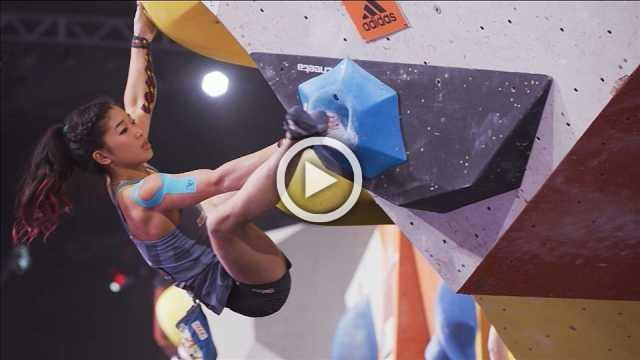 Kruder and Nonaka win Rockstars bouldering event in Stuttgart