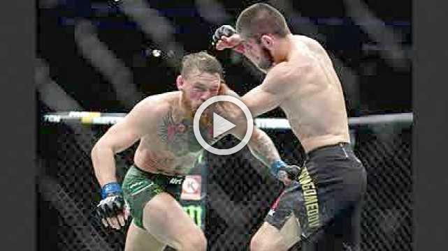 Khabib defeats McGregor by submission at UFC229