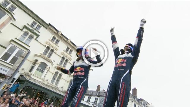 Ogier wins Wales Rally GB