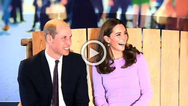 Britain's Duke and Duchess of Cambridge attend mental health summit