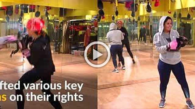 Saudi women break stigmas with boxing