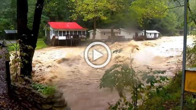 North Carolina hit by flooding after Michael