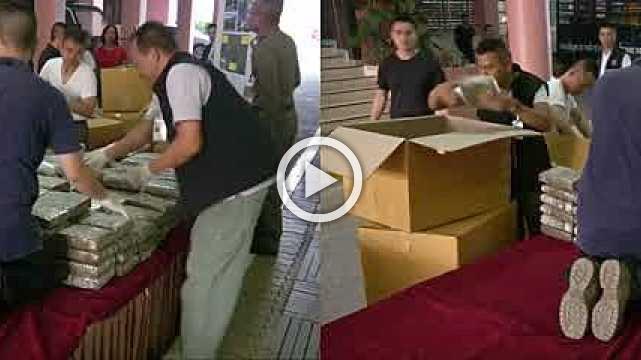 Thailand seizes over 22 million meth pills