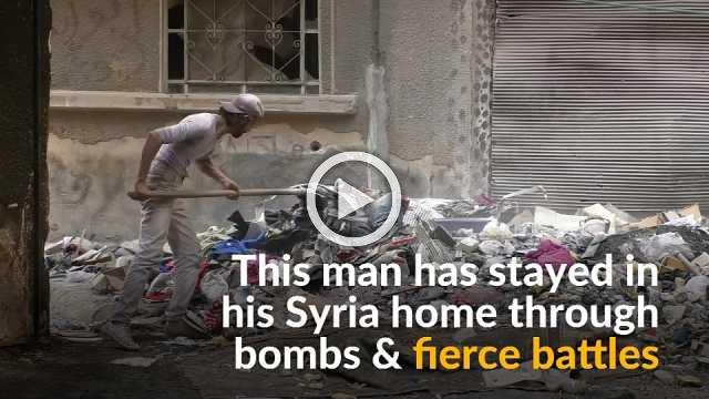 The man who has held out through years of Syria's war