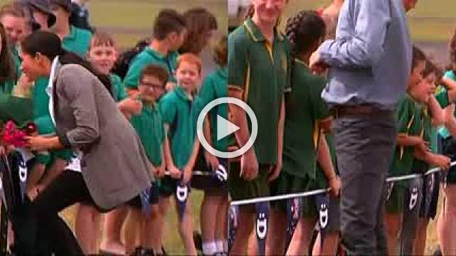 Harry and Meghan visit rural Australia