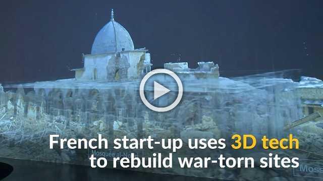 3D tech helps recreate war-torn cultural heritage sites
