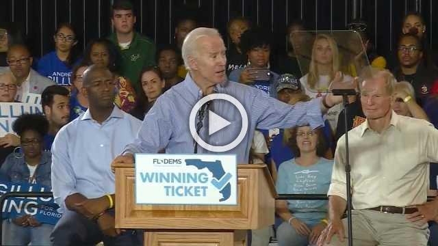 Midterms about 'taking back America's soul': Biden