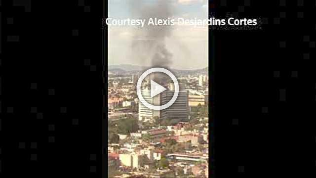 Thousands evacuated after fire and explosion in a Mexican alcohol factory
