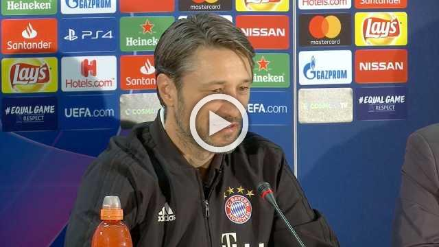 Bayern's Kovac says he is never afraid but respects AEK