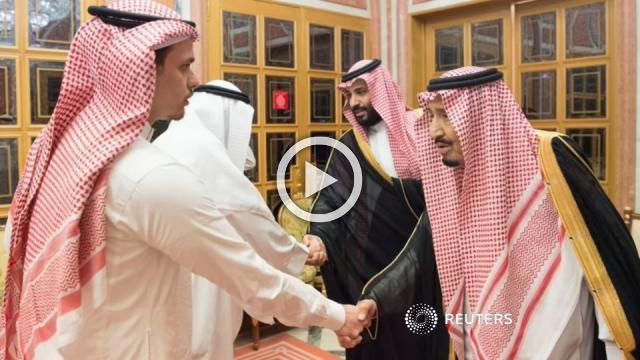 Saudi King and Crown Prince meet Khashoggi family members