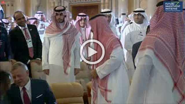 Saudi Crown Prince gets warm welcome at Riyadh summit