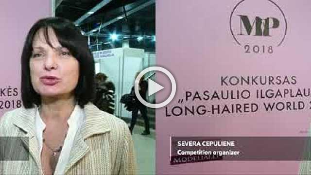 Over 180 Lithuanian women compete to see who has the longest hair