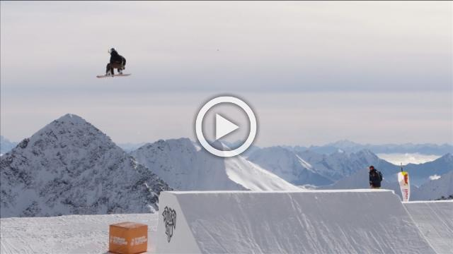 Gasser soars to world's first female snowbaording Triple Cork