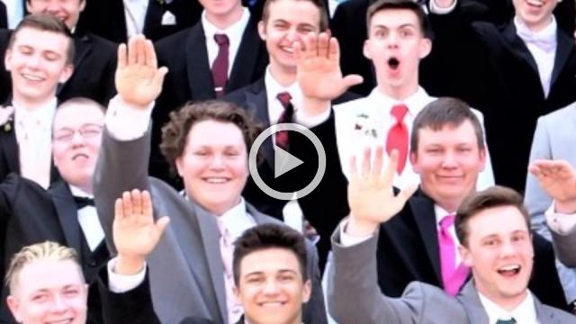 """""""It's not what we meant"""": teen in """"Nazi salute"""" photo"""