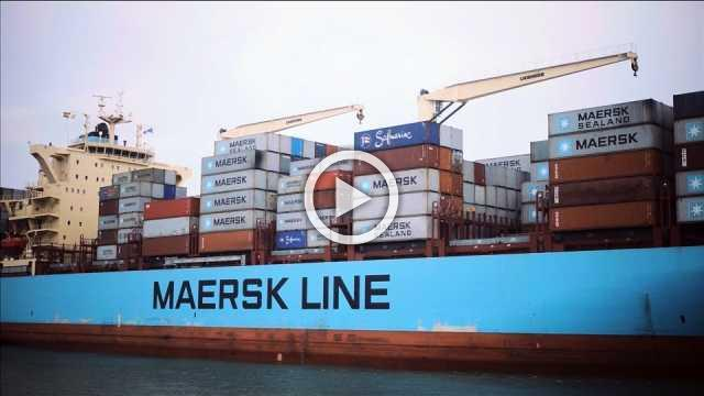 Maersk warns trade war will hit container shipping