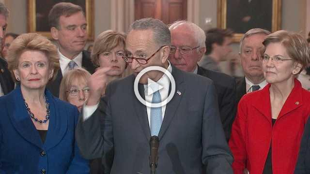 Stay out of budget talks: Schumer to Trump