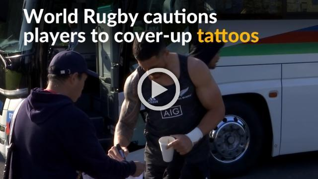 Rugby World Cup could spark debate in tattoo-averse Japan