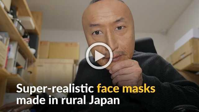 Face off: Realistic masks made in Japan find demand