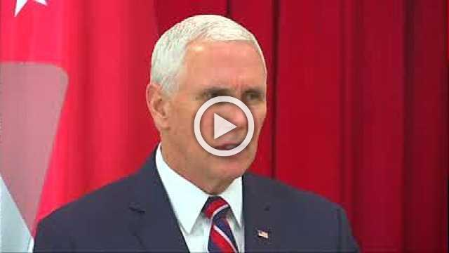 Pence says South China Sea doesn't belong to any one nation