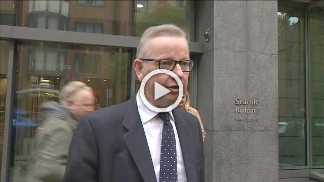 UK's Gove says he has confidence in PM May